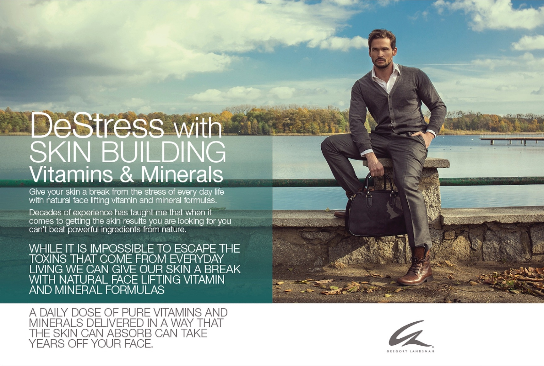 GREGORY LANDSMAN: DE-STRESS SKIN BY FEEDING IT THE RIGHT VITAMINS & MINERALS